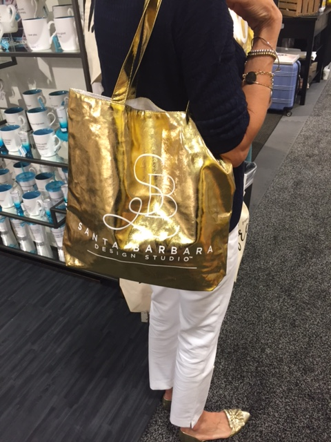 Gold Tote Giveaway